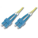 Digitus DK-2922-01 cable de fibra optica 1 m SC Amarillo