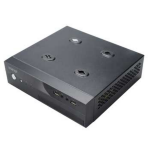 Akasa Crypto Vesa 80W Small Form Factor (SFF) 80W Black computer case