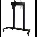 """Sharp L20PNSR780MEU 80"""" Portable Black flat panel floorstand"""