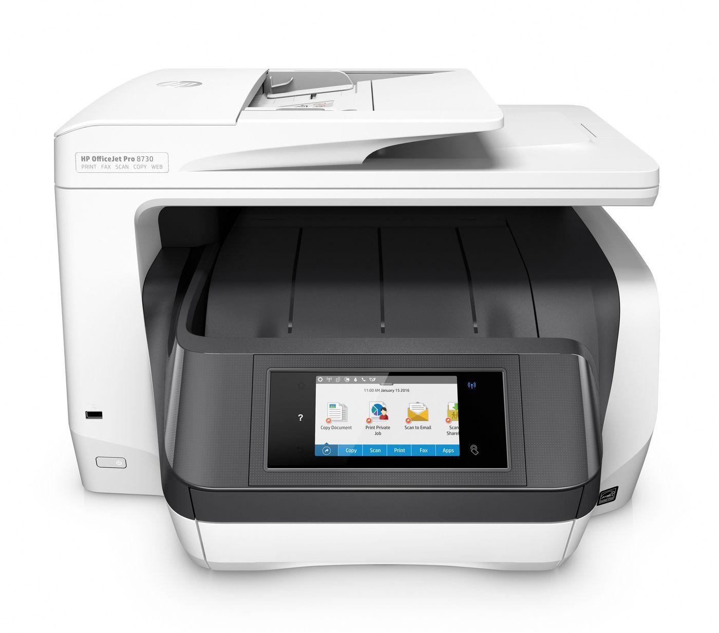 HP OfficeJet Pro 8730 All-in-One