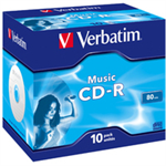 Verbatim Music CD-R CD-R 700MB 10pc(s)