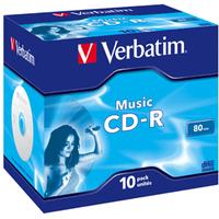 Verbatim Music CD-R 700 MB 10 pc(s)