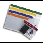 """Snopake """"Zippa Bag S"""" Assorted Colour Packs, A3 Assorted Plastic Transparent"""