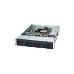Supermicro SC825TQC-600LPB Rack Black 600 W
