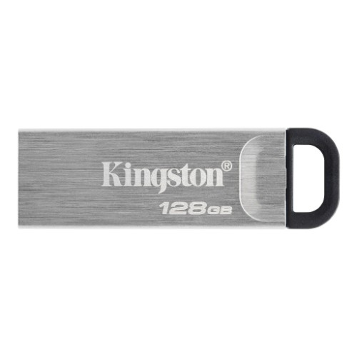 Kingston Technology DataTraveler Kyson USB flash drive 128 GB USB Type-A 3.2 Gen 1 (3.1 Gen 1) Silver