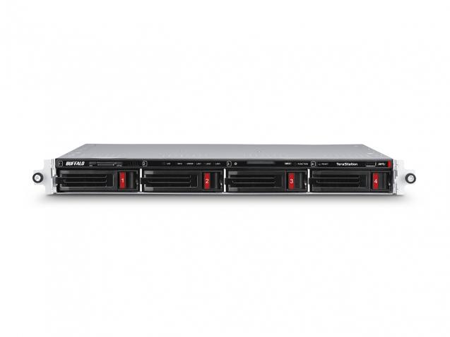 Buffalo TeraStation 5410RN Ethernet LAN Rack (1U) Black NAS