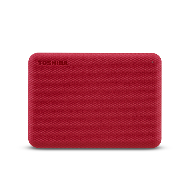 Toshiba Canvio Advance disco duro externo 2000 GB Rojo