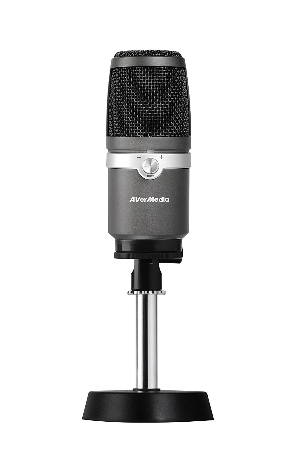 AVerMedia AM310 PC microphone Wired Black,Silver
