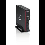 Fujitsu ESPRIMO G558 9th gen Intel® Core™ i5 i5-9400T 8 GB DDR4-SDRAM 256 GB SSD USFF Black Mini PC Windows 10 Pro