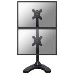 Newstar FPMA-D700DDV Flat panel Tischhalter 68,6 cm (27 Zoll) Schwarz