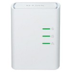 D-Link DHP-308AV PowerLine network adapter 500 Mbit/s Ethernet LAN White 1 pc(s)