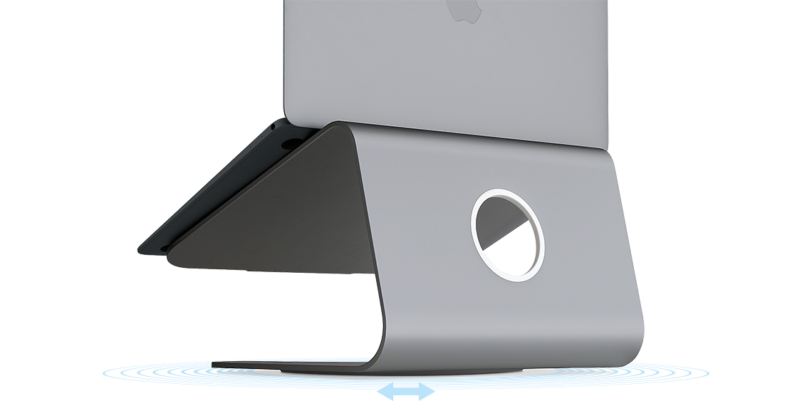 "Rain Design mStand 360 Grey 43.2 cm (17"")"