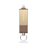 Adam Elements iKlips DUO 64GB USB 3.0 (3.1 Gen 1) Type-A Gold USB flash drive