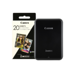Canon Zoemini Slim Body Pocket Sized Photo Printer Black inc 30 Prints