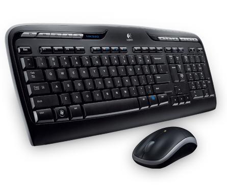 Logitech MK320 RF Wireless Black keyboard