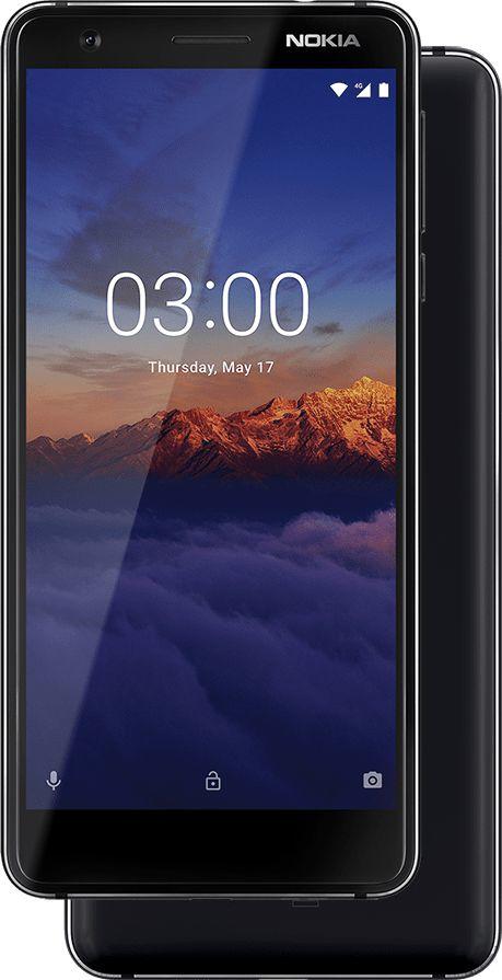 """Nokia 3.1 5.2"""" 4G 2GB 16GB 2990mAh Black 11ES2B01A21"""