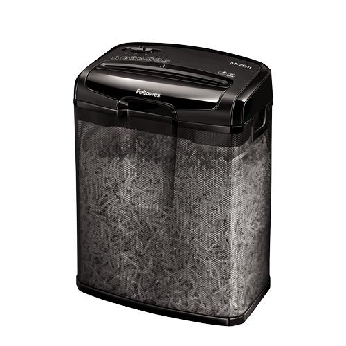 Fellowes Powershred M-7Cm paper shredder Cross shredding 23 cm Black