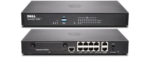 DELL SonicWALL TZ600 + Total Secure 1Yr 1500Mbit/s hardware firewall