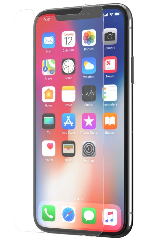 Tech21 Impact Shield Clear screen protector iPhone X 1 pc(s)