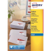 Avery J8162-100 White Self-adhesive label addressing label