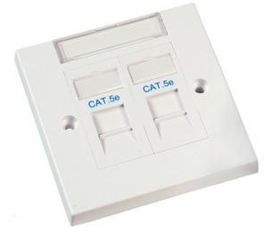 Videk 1678E wall plate/switch cover White