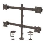 StarTech.com Desk Mount Quad Monitor Arm - Ergonomic VESA 4 Monitor Mount 2x2 up to 27
