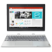 "Lenovo IdeaPad Miix 320 1.44GHz x5-Z8350 10.1"" 1280 x 800pixels Touchscreen 4G Platinum, Silver Hybrid (2-in-1)"