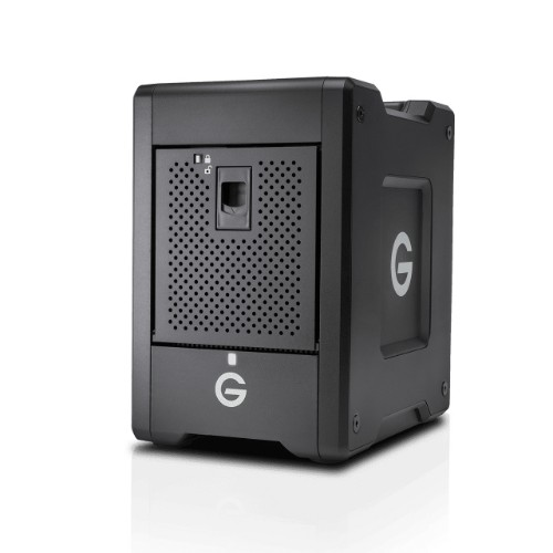 G-Technology Shuttle disk array 56 TB Tower Black