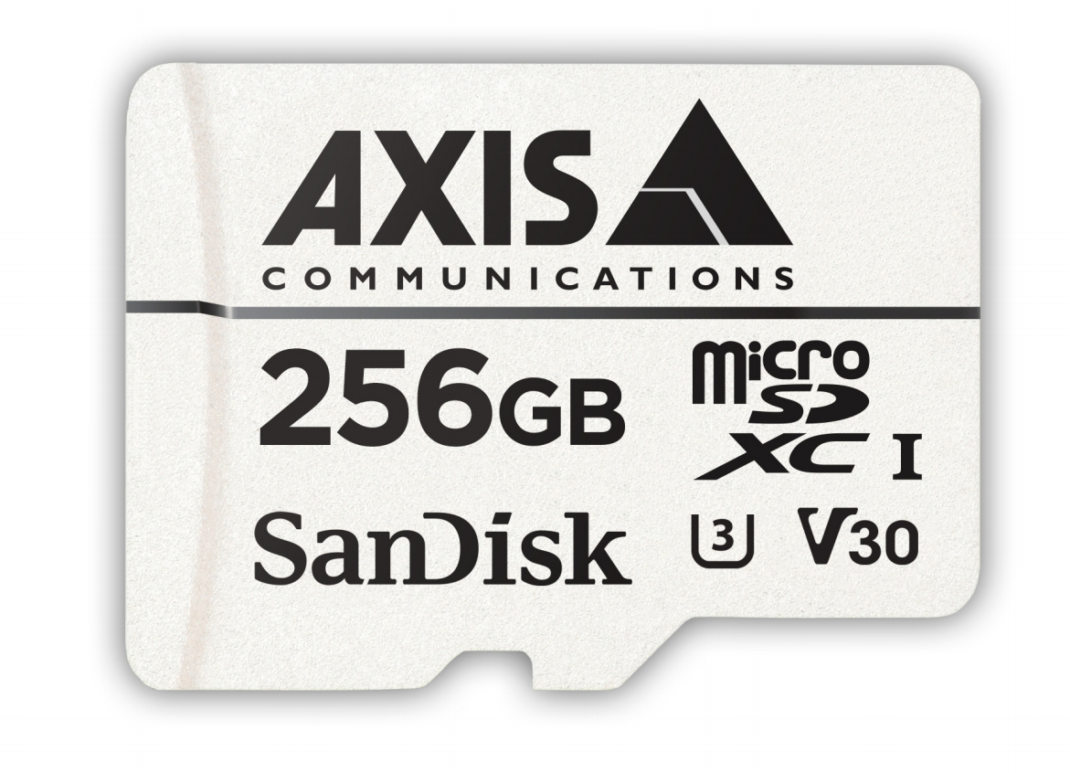 Axis 02021-001 memoria flash 256 GB MicroSDXC UHS