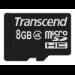 Transcend TS8GUSDC4 8GB MicroSDHC memory card