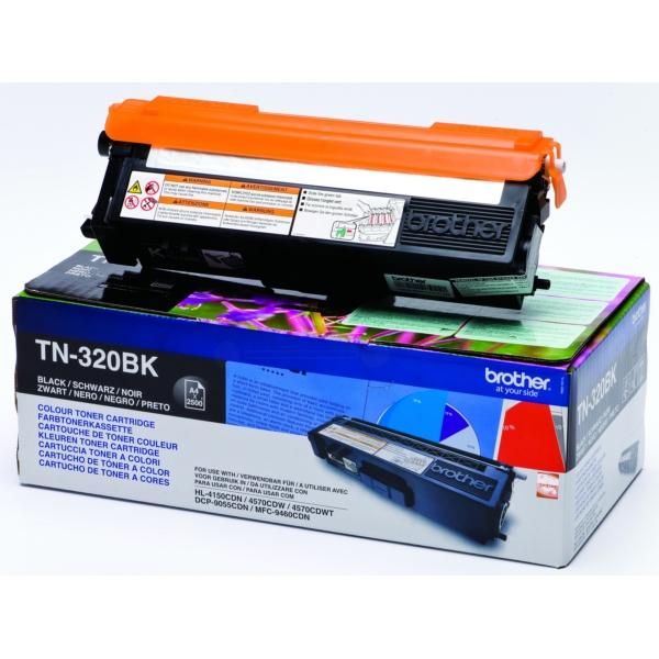 Brother TN-320BK Toner black, 2.5K pages