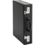 Alassio Attaché Case PONTE briefcase Leather Black