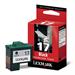 Lexmark 10NX217E (17HC) Printhead black, 205 pages, 7ml