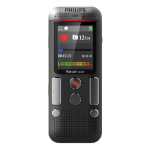 Philips DVT2710 Internal memory & flash card Anthracite,Chrome dictaphone