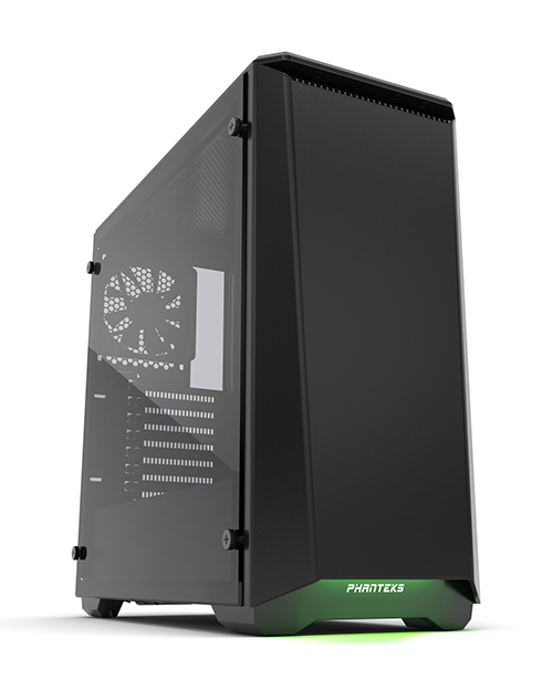 Phanteks Eclipse P400S Tempered Glass Midi-Tower Black computer case