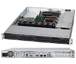 Supermicro SuperChassis 815TQ-600WB Rack Black 600 W
