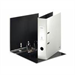 Leitz 180° WOW Lever Arch File - pearl white White ring binder