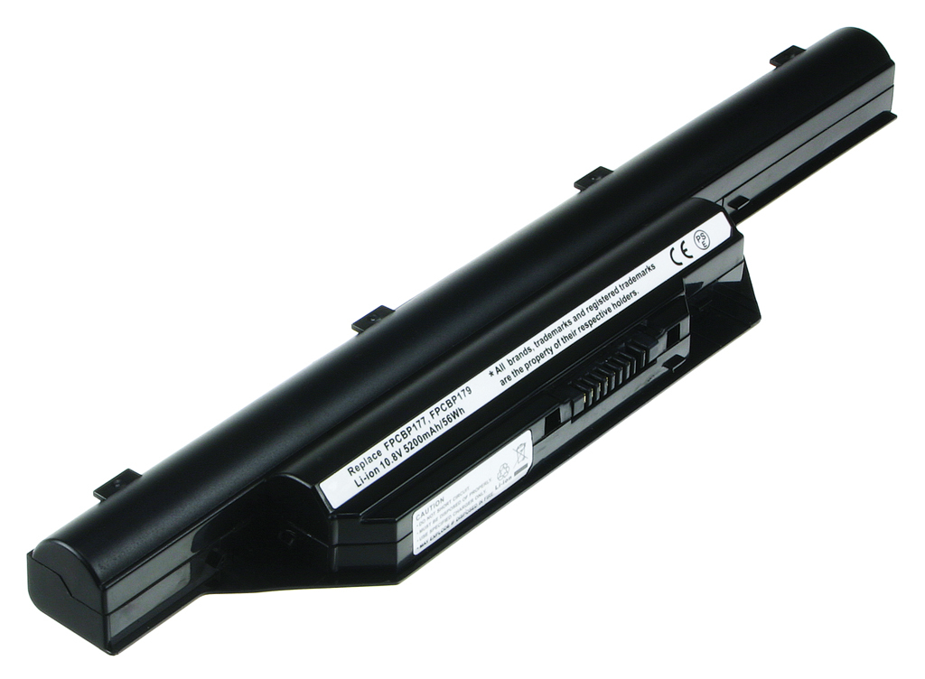 2-Power 10.8v, 6 cell, 56Wh Laptop Battery - replaces FPCBP177
