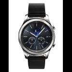 "Samsung Gear S3 Classic 1.3"" SAMOLED GPS (satellite) Silver smartwatch"
