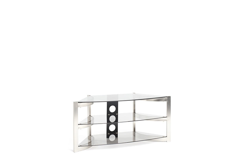 "Techlink Skala Corner 50"" Portable flat panel floor stand Titanium"