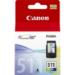 Canon CL-511 Colour cartucho de tinta 1 pieza(s) Original Cian, Magenta, Amarillo