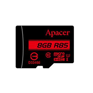 Apacer microSDHC UHS-I U1 Class10 memory card 8 GB