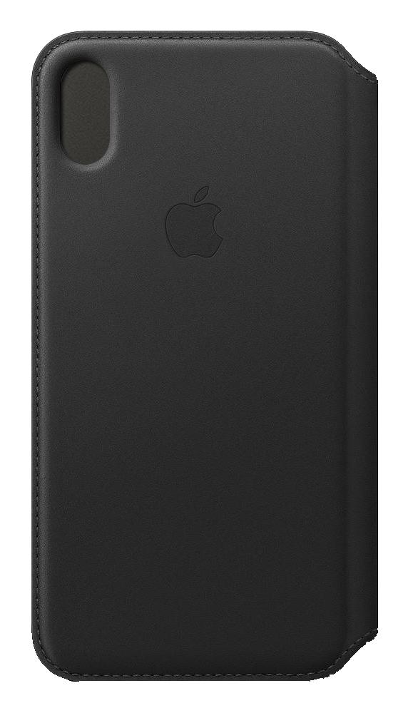 "Apple MRX22ZM/A funda para teléfono móvil 16,5 cm (6.5"") Folio Negro"