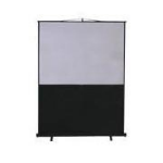 "Metroplan Leader Portable Floor Screen 74"" 4:3 Black,White projection screen"