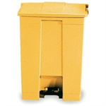 FSMISC 30.5L STEP-ON CONTAINER YELLOW 324324301