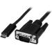 StarTech.com Cable Adaptador Conversor USB-C a VGA - 1m - 1920x1200