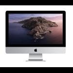 """Apple iMac 54,6 cm (21.5"""") 4096 x 2304 Pixeles 8ª generación de procesadores Intel® Core™ i3 8 GB DDR4-SDRAM 256 GB SSD AMD Radeon Pro 555X Wi-Fi 5 (802.11ac) Plata PC todo en uno macOS Catalina 10.15"""