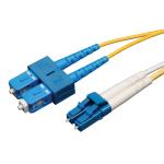 Tripp Lite Duplex Singlemode 8.3/125 Fiber Patch Cable (LC/SC), 10M