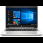 """HP ProBook 450 G7 Notebook 39.6 cm (15.6"""") 1920 x 1080 pixels 10th gen Intel® Core™ i5 8 GB DDR4-SDRAM 256 GB SSD NVIDIA® GeForce® MX130 Wi-Fi 6 (802.11ax) Windows 10 Pro Silver"""