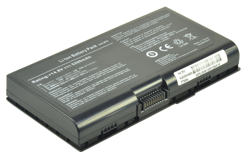 2-Power 14.8v, 8 cell, 77Wh Laptop Battery - replaces A32-F70